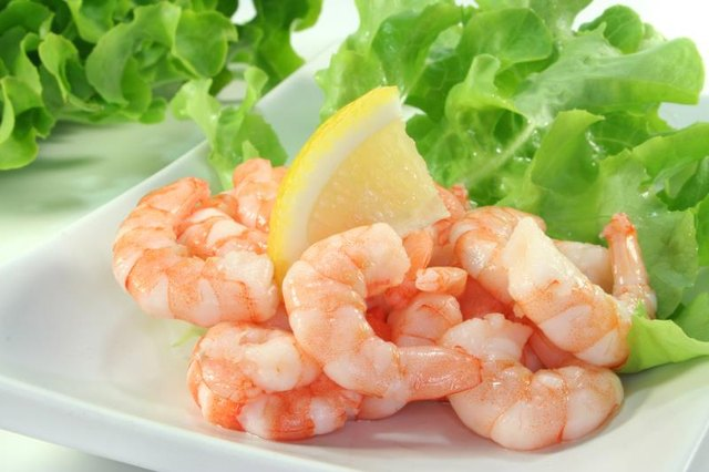 Nutritional Information for Frozen, Cooked, Peeled, and Deveined Shrimp