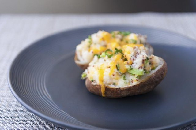Healthy Ways to Flavor a Baked Potato