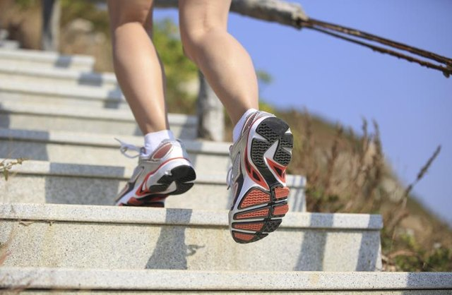 How to Run Up & Down Stairs to Lose Weight