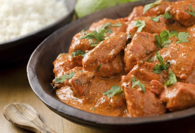 Nutrition Information for Butter Chicken