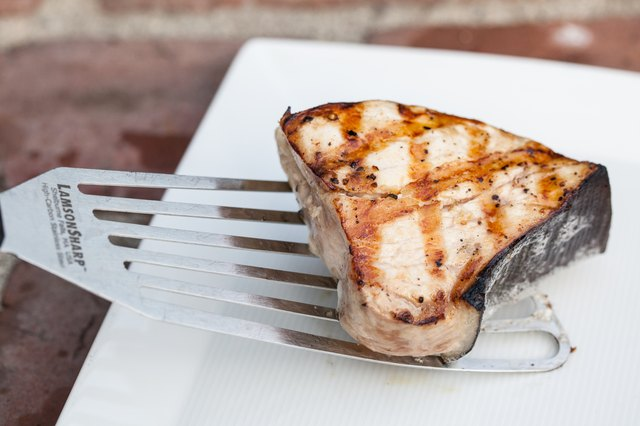 Directions to Grill Swordfish