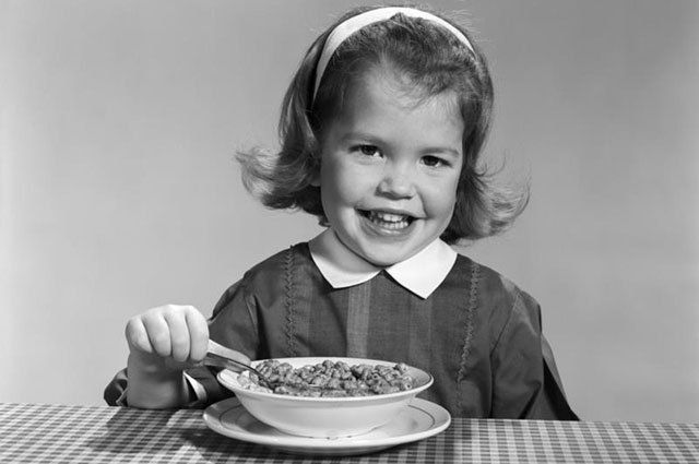 "Cold cereal has been marketed to Americans as a ""healthy breakfast"" since the 1950s."