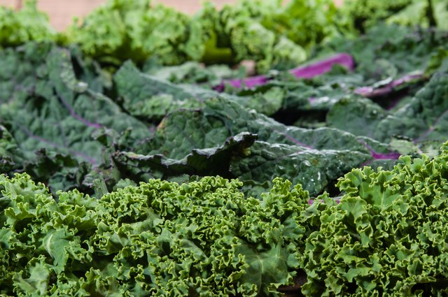 For lettuce, darker-green options are healthier than lighter greens.