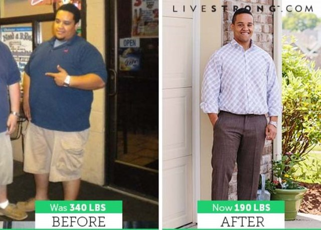 Bryce lost 150 pounds and 13 inches from his waist!