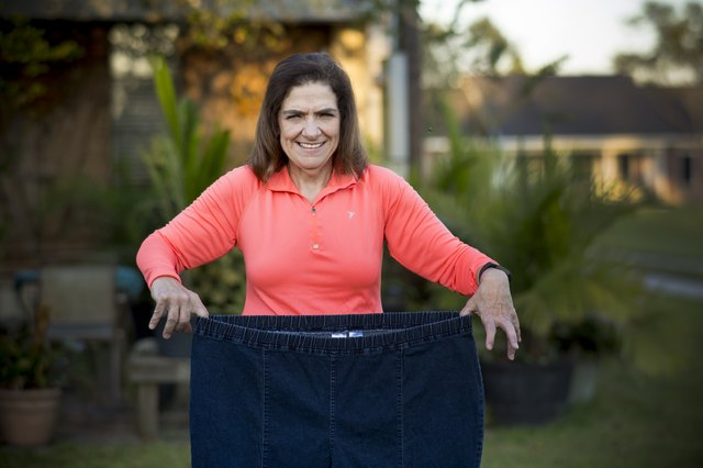 Gail lost an impressive 16 pant sizes.