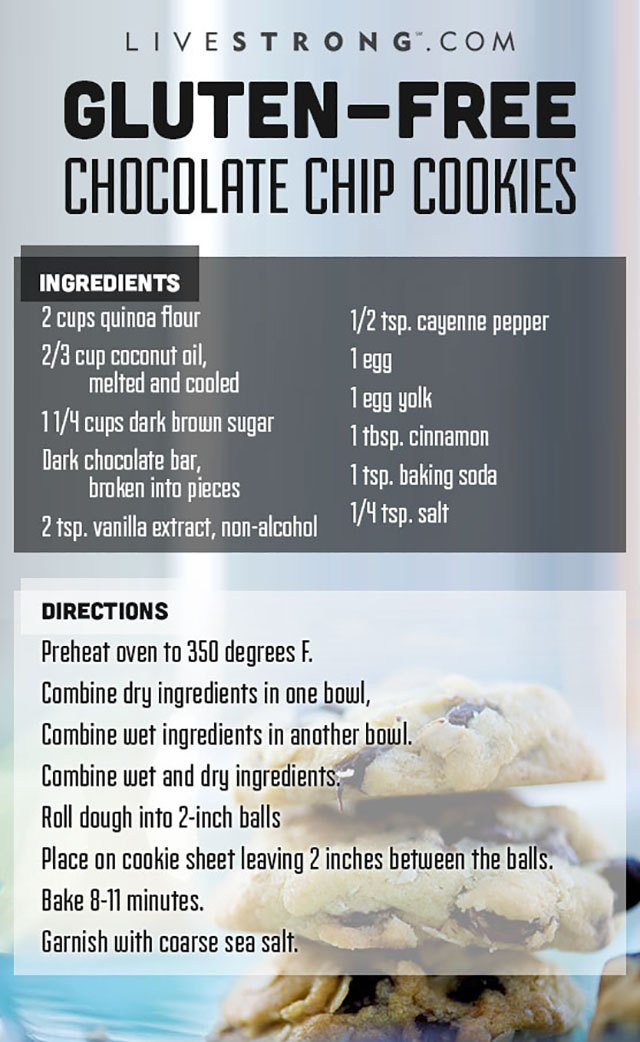 Print this handy step-by-step recipe and try these gluten-free cookies at home!