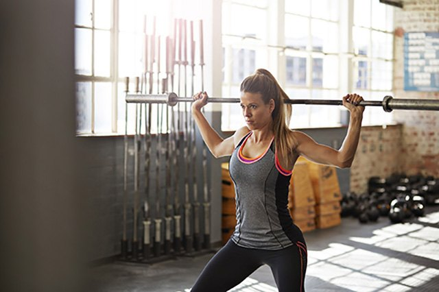 Incorporate weight lifting as part of your routine.