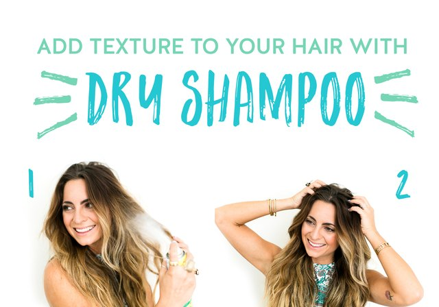 Dry shampoo is a multipurpose product.
