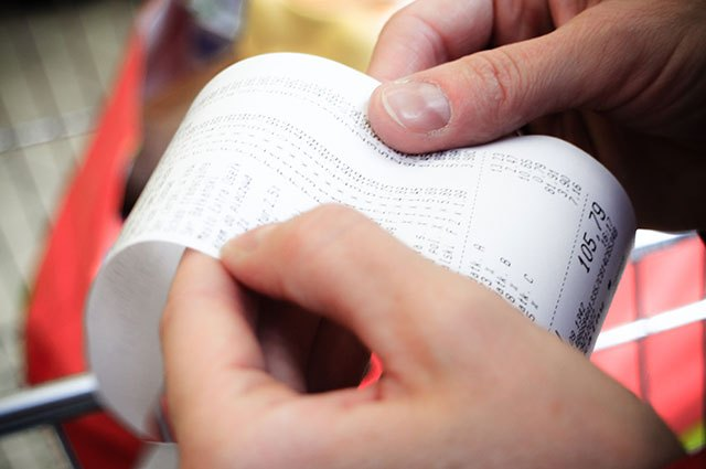 Just don't toss receipts for big-ticket items.