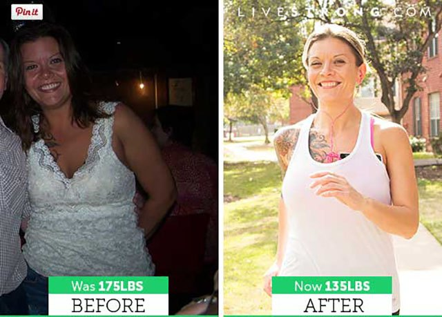 Feeling unhappy and overweight led Lisa to shed 40 pounds.