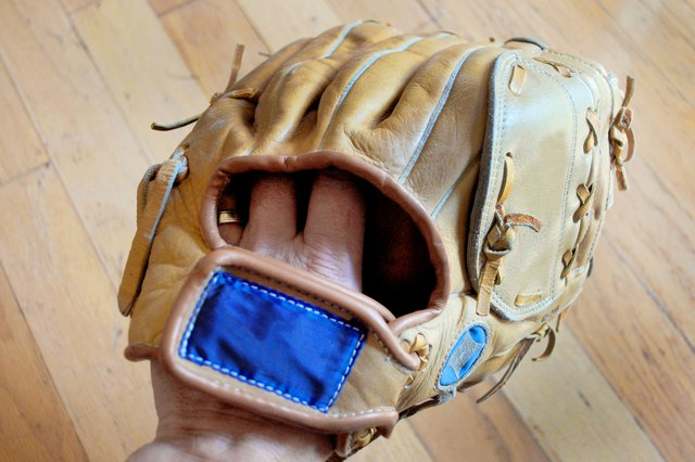 Different Ways of Placing Fingers in a Baseball Glove