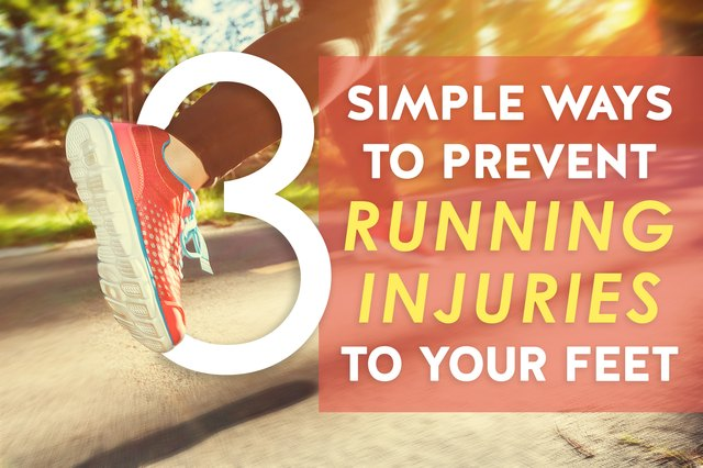 3 Simple Ways to Prevent Running Injuries to Your Feet