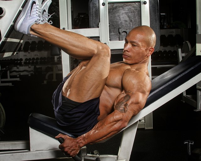 Leg presses target your lower body without the injury risk of free weights.