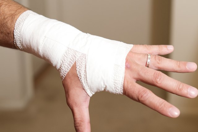 How To Wrap A Wrist With Athletic Tape Livestrong Com