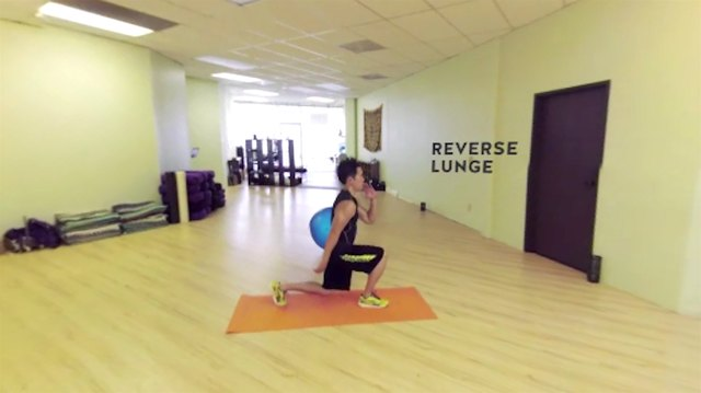 Try the reverse lunge for less stress on your knees.