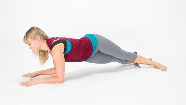 Hip-Drop Plank