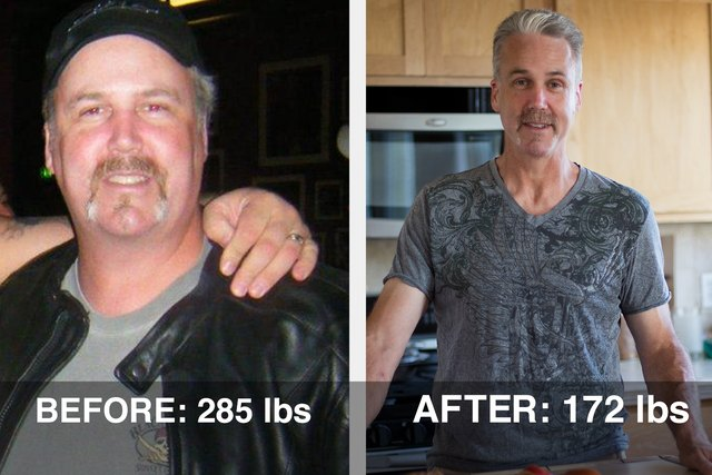 Robert signed up for LIVESTRONG.COM, and 90 days later he was down more than 50 pounds.