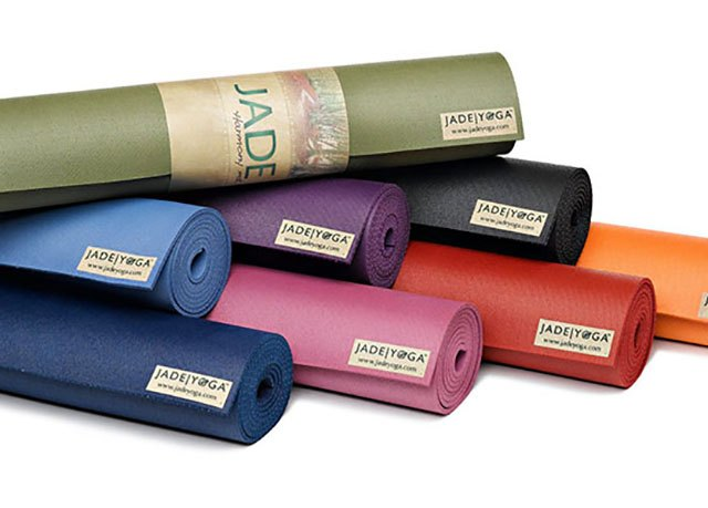 For each JADE YOGA mat you buy, the company donates $5 to a noble cause.