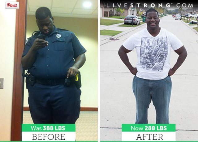 Peter lost 100 pounds and dropped 7 sizes!