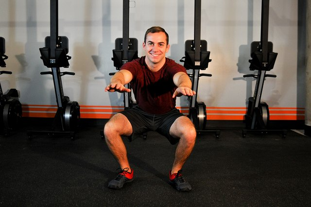 Squats — the quintessential lower body exercise.