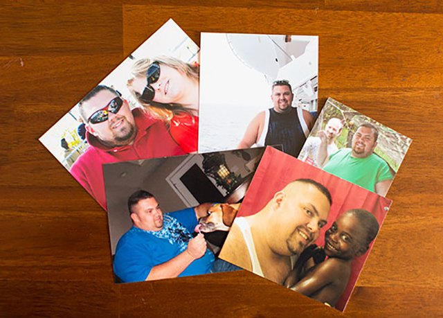 Bobby's wife and friends supported him in his weight loss journey every step of the way.