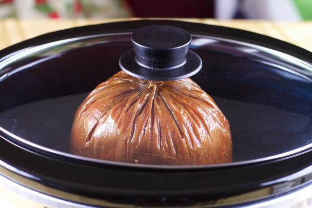 How to Bake a Precooked Ham in the Crock Pot