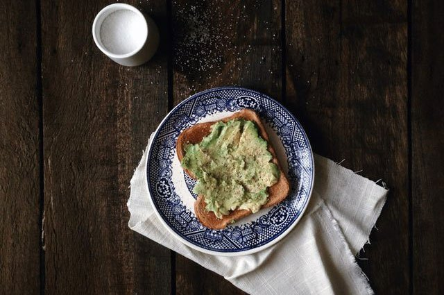 If you don't have a knife handy, simply mash avocado on toast rather than slicing it.