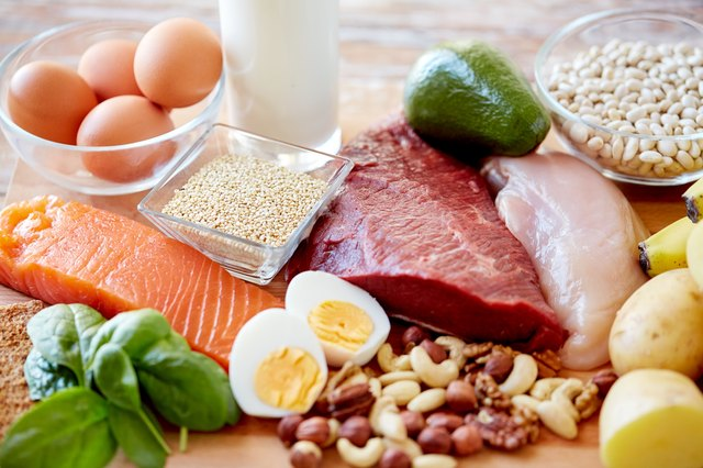 Your protein does not have to be meat. Beans, nuts, eggs and soy products are also protein-rich.