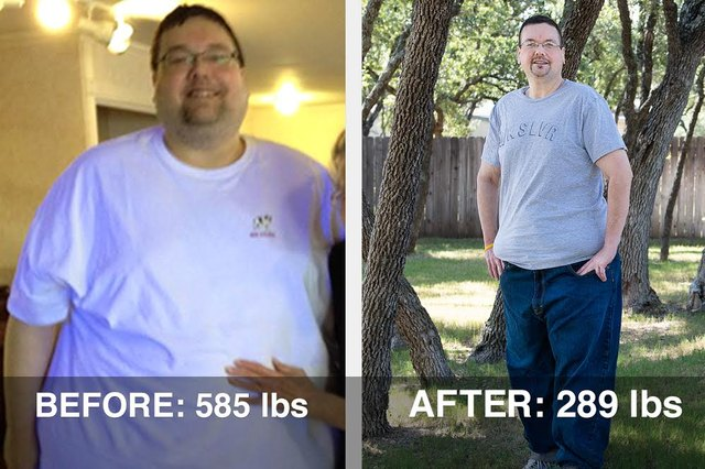 Jim lost 296 pounds and 20 pants sizes, and is still going strong!