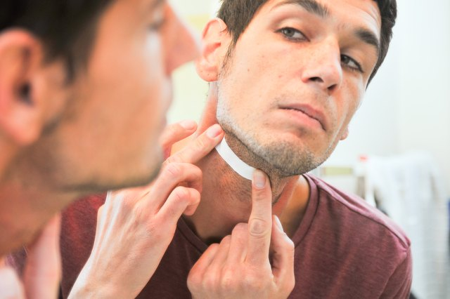 How to Wax Men's Facial Hair