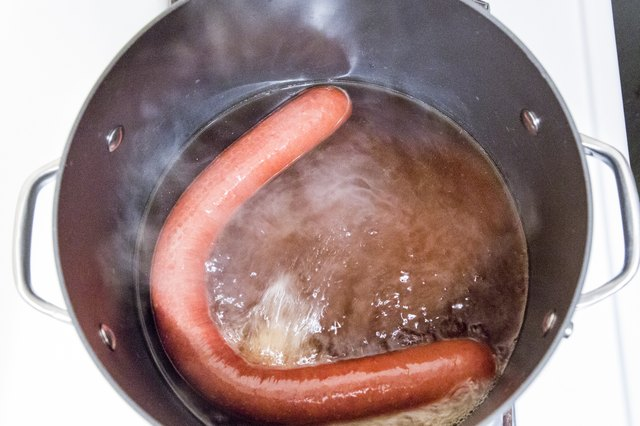 How to Cook a Kielbasa Link in the Oven