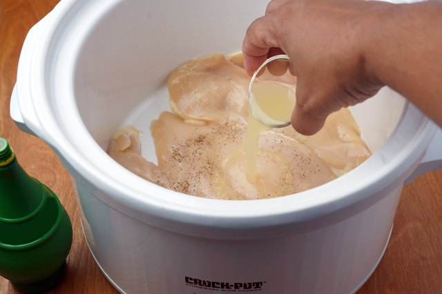 How to Cook Boneless Skinless Chicken Breasts in the Crock-Pot