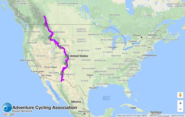 Learn more about the Great Divide route at AdventureCycling.org.