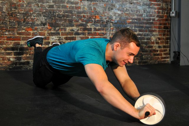 Rolling to the side works your obliques.