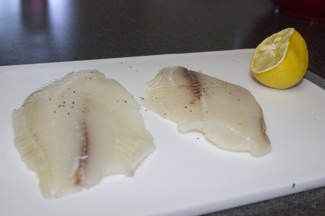How to Cook a Sea Bass Fillet