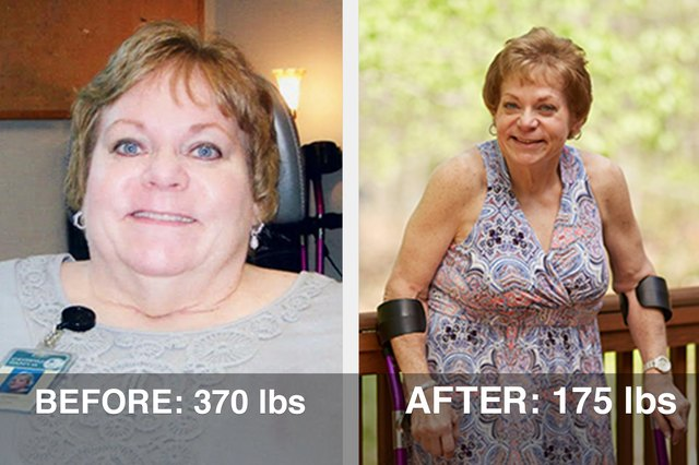 Dianna's weight loss hovered at around 200 lbs.