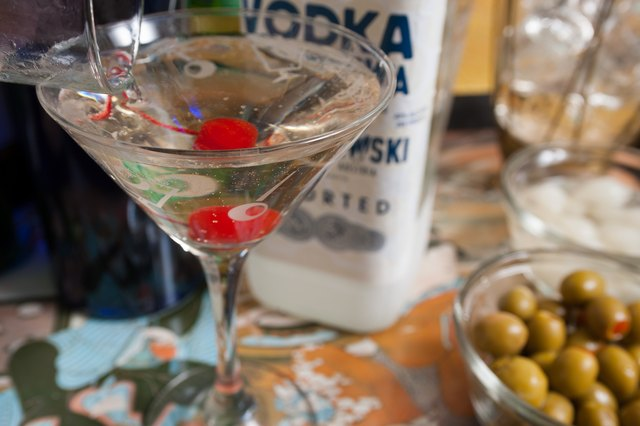 How Many Calories in a Vodka Martini?