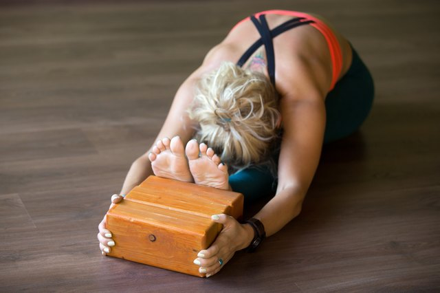 Blocks can help you deepen a pose or provide support for beginners.