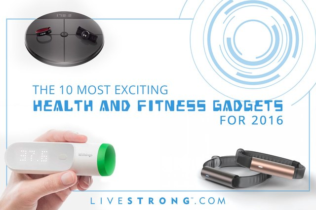 These 10 health and fitness gadgets can help you get in gear in the new year.