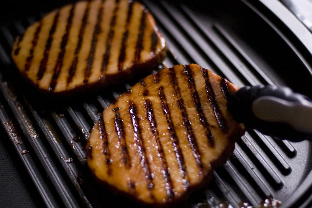 How to Grill a Ham Steak