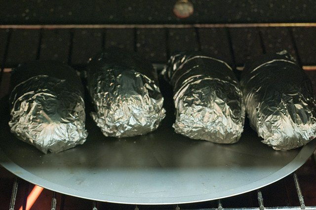 How to Bake Foil-Wrapped Potatoes