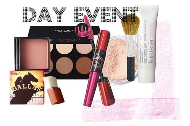 Less is more when it comes to makeup for a day event.