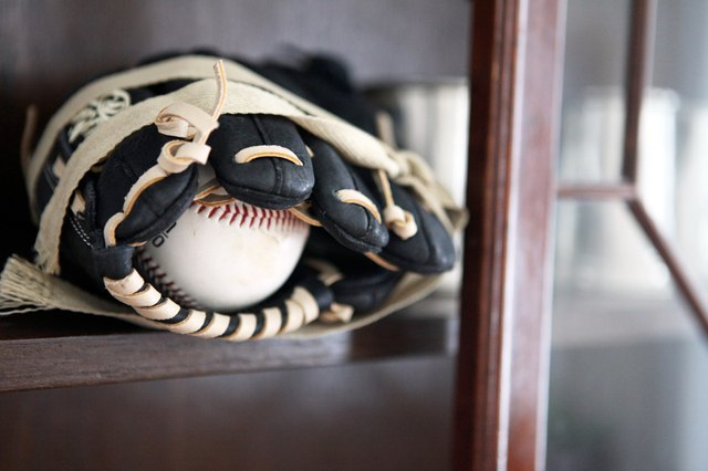 How to Break in a Baseball Glove With Shaving Cream