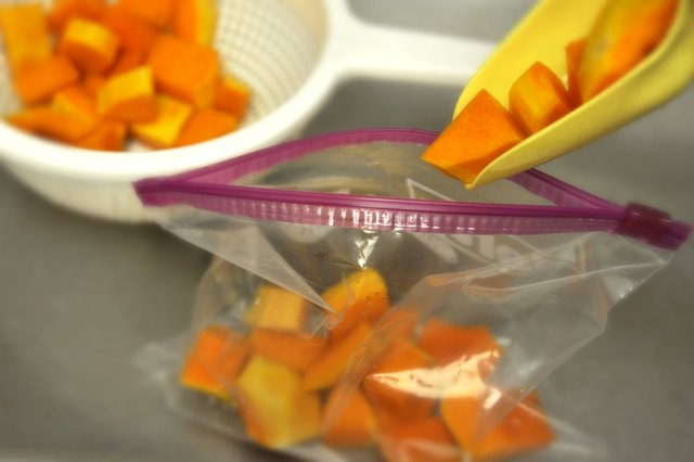 How to Freeze Chunks of Butternut Squash