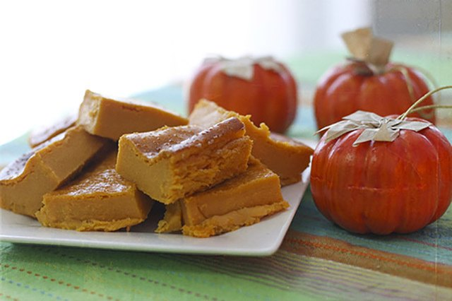 Pumpkin is a rich source of vitamin A and fiber.