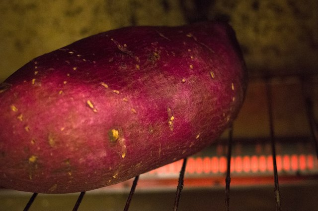 How to Bake a Sweet Potato in a Convection Toaster Oven