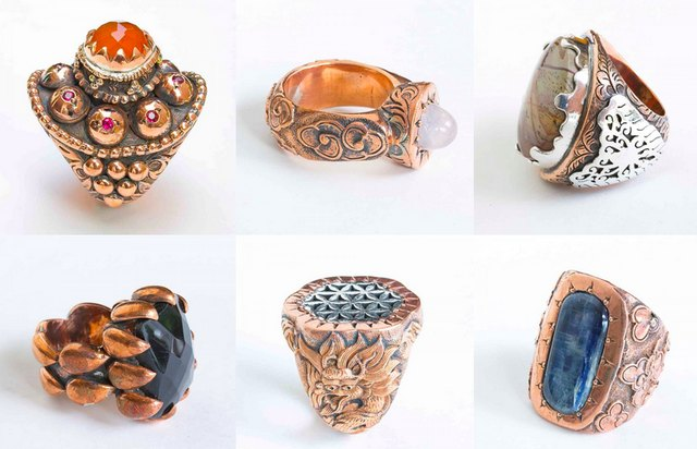 Alleviate arthritis pain and be fashionable with copper rings.
