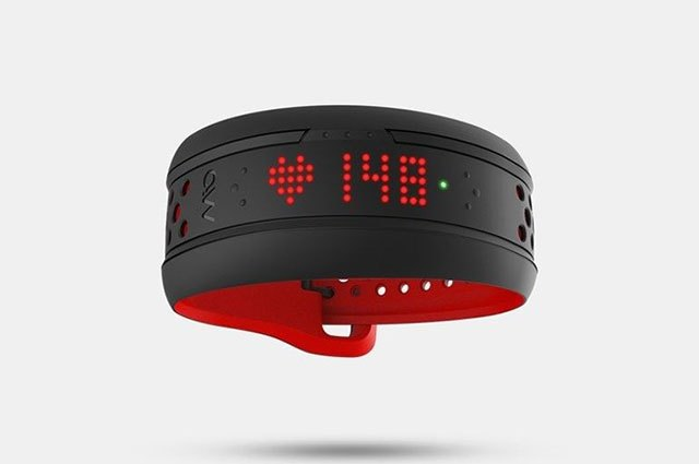The Mio Fuse fitness band is for serious athletes.