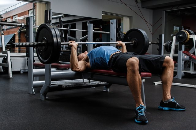 The bench press is an iconic — and important — strength exercise.