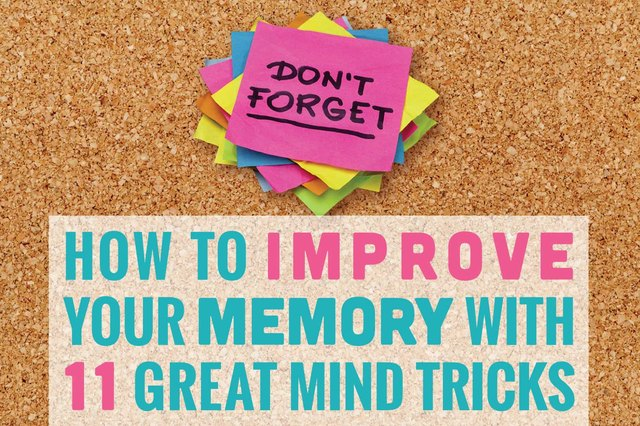The best way to strengthen memory is to use it!